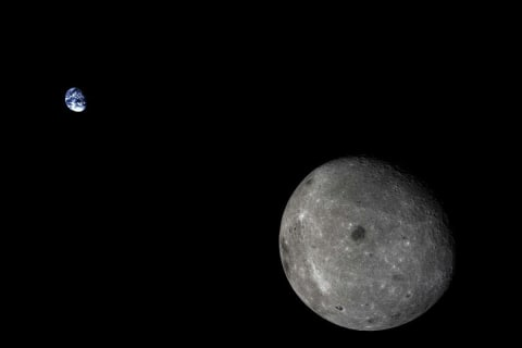 China's Chang'e 5-T1 Probe Returns After Rounding Moon