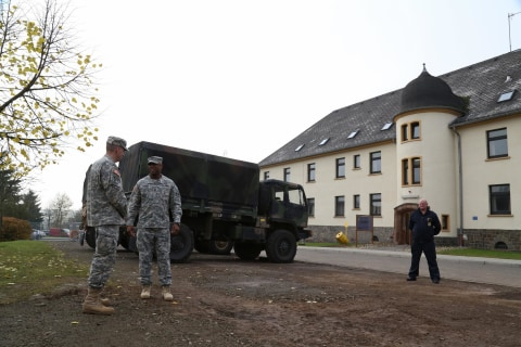 How to Spend 21 Days in Ebola Quarantine: Foosball, WiFi for Troops
