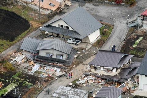 Magnitude 6.8 Quake Hits Central Japan, Injuring 30