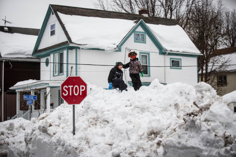 'Worse Than Snow': Flooding Threat Looms as Buffalo Melts
