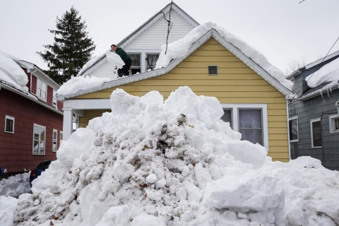 'Worse Than Snow': Flooding Threat Looms as Buffalo Melts