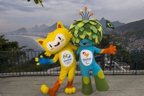 Mascots for Rio Olympics and Paralympics Released