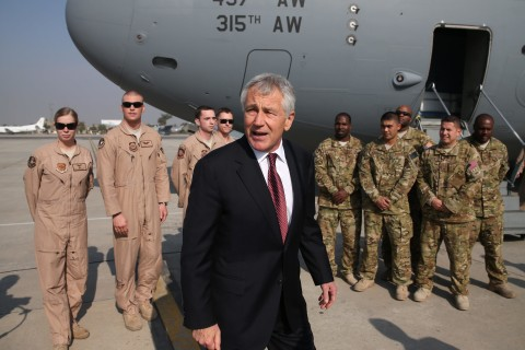 Defense Secretary Chuck Hagel Forced to Step Down, Officials Say