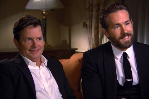 Ryan Reynolds, Michael J. Fox Team Up on Parkinson's
