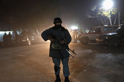 Embassy District of Afghanistan's Kabul Rocked by Suicide Blasts