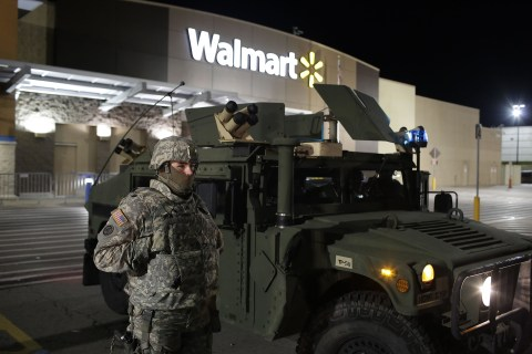 Ferguson Protests Move to Target, Wal-Mart Stores Around St. Louis