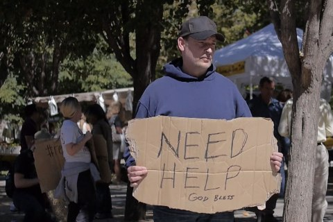 Pastor's Stint On The Street Opens Eyes to Plight of Homeless
