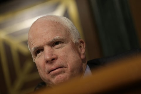 John McCain Accuses President Obama of Failing to Stop ISIS