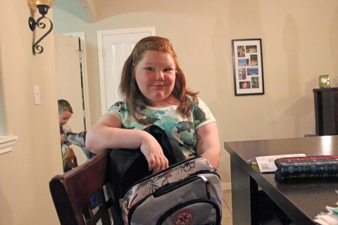 Once Obese But Starving Girl Sees Healthy Future