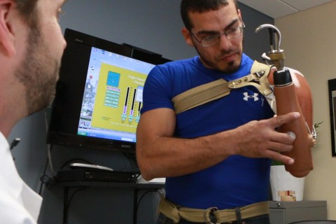 War Vets Cast Aside Costly Prosthetic Arms, Citing Usability
