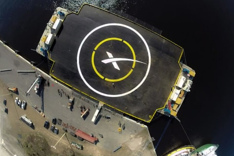 SpaceX Does a Reality Check on Its Falcon 9 Rocket Landing P
