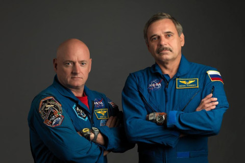 These Guys Can't Wait to Spend a Year on the Space Station
