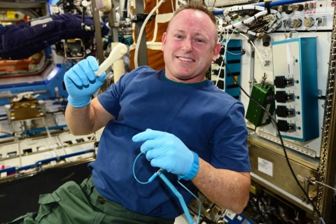 3-D Printer System Beams Up a New Tool to Space Station