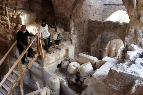 Archaeologists Unearth Entryway to King Herod's Palace