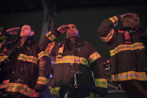 Heroes' Salute: Fire Department Honors Slain NYPD Officers