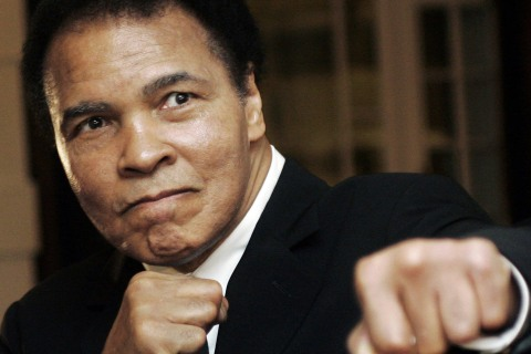 Muhammad Ali Hospitalized With Mild Case of Pneumonia