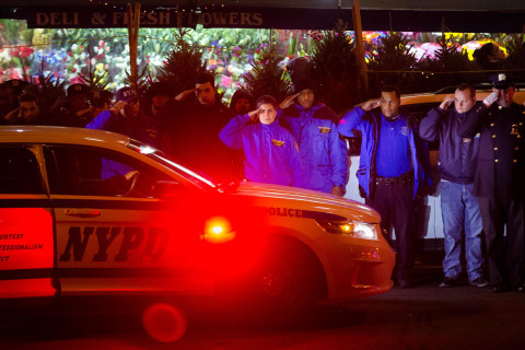 'Assassinated': Shock After Two NYPD Officers Gunned Down in Their Car