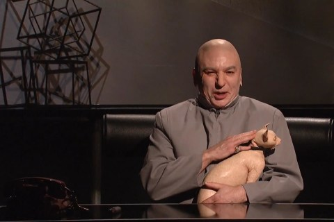 Mike Myers Brings Back Dr. Evil in Guest-Filled 'SNL'