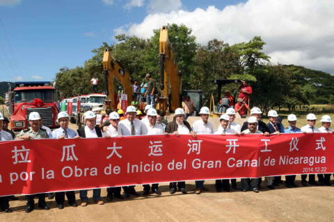 Nicaragua Announces Start of China-Backed Canal to Rival Panama