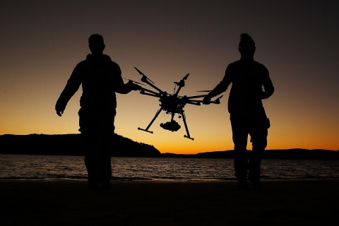 Inside Drone School: How to Fly an Unmanned Aerial Vehicle