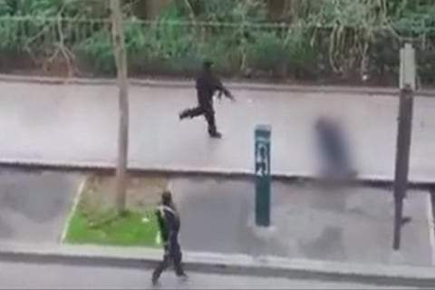 Charlie Hebdo Attack: Paris Cop Shot Dead in Street Was Muslim