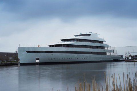 World's First Hybrid MegaYacht Launches