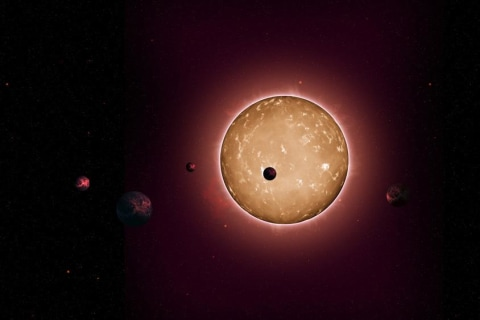 Ancient Aliens? Oldest Known Solar System Discovered