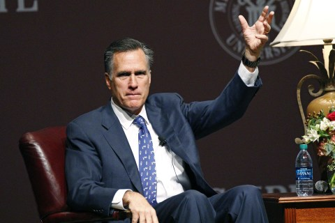 Here's Why Mitt Romney Has to Make Up His Mind Now