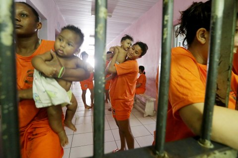 Violent Unrest Eases Inside Brazil's Most Notorious Prison