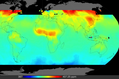 NASA Satellites Start Tracking Down the Sources of Climate Change