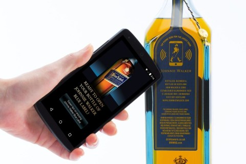 Johnnie Walker Shows Off NFC-Powered Smart Whiskey Bottle