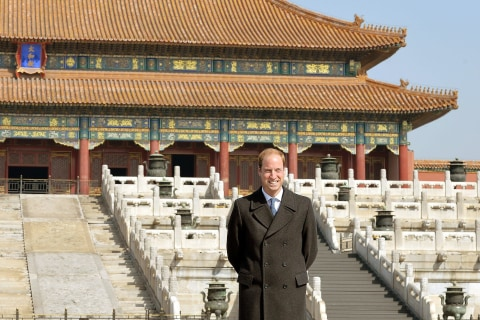 Prince William in Beijing Proves Defter Diplomat Than Dad on China