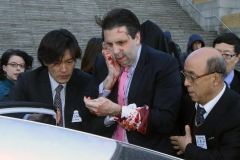 U.S. Ambassador in South Korea Attacked With Knife
