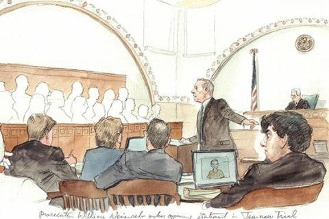 Boston Bombing Trial: Survivor Recalls Brush With Alleged Attacker