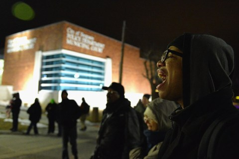 Ferguson Protesters, Cops Square Off After Report on Michael Brown Shooting