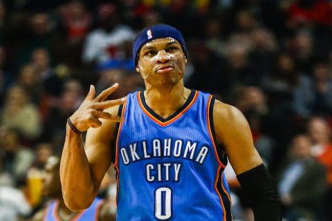 Russell Westbrook's Triple-Double Streak Ends at Four Games
