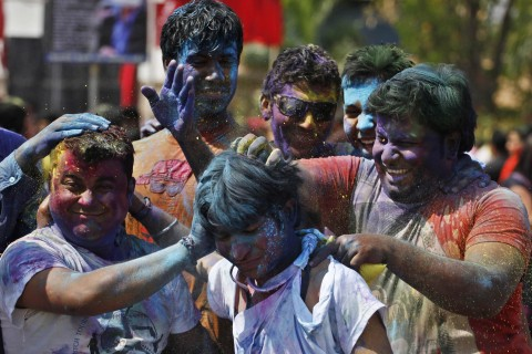 Holi Welcomes Spring with Bursts of Color