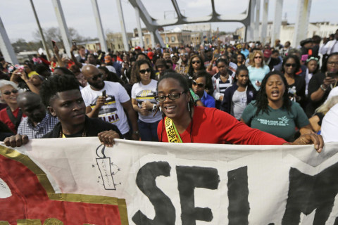 Of Selma's Past and Future: Young Activists Marching Forward