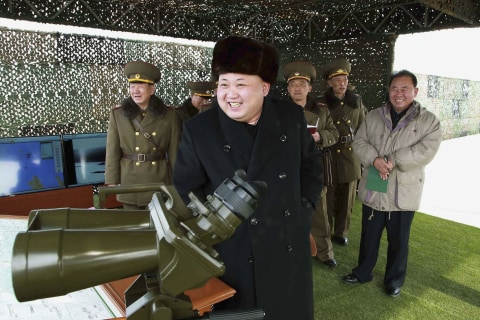 North Korea Fires Seven Missiles Into East Sea, South Korea Says