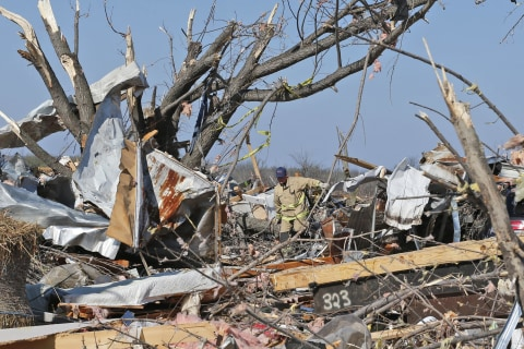 Tornado Season in Oklahoma Starts With Violent Storm