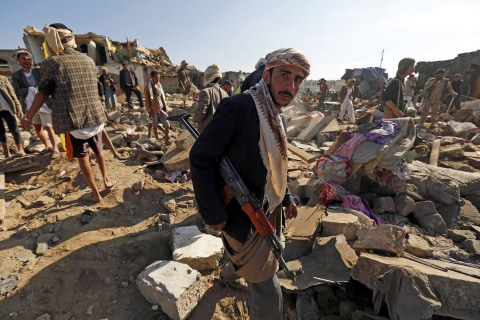 Yemen in Crisis: Saudi Bombing Seen as Effort to Thwart Iran