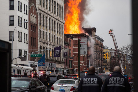 'Gas-Related' Explosion Destroys Three Buildings in New York City