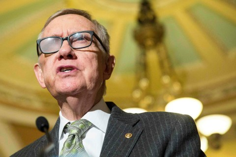 Harry Reid Says He's Not Running for Re-Election in 2016