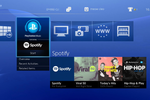 Sony Unveils Spotify on PlayStation: 'Much Better' Than Its Failed Music App