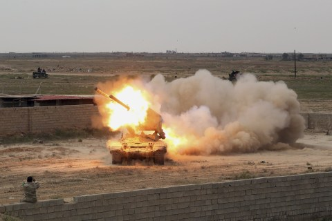 Heavy Fighting Reported As Iraqi Forces Attack Tikrit