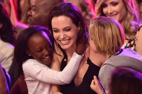 Angelina Jolie Delivers Empowering Kids' Choice Awards Speech