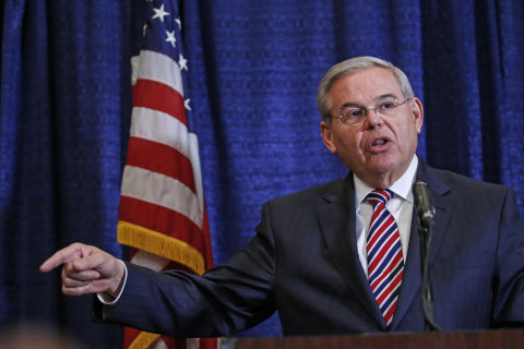 N.J. Sen. Robert Menendez Vows He'll Be Vindicated After Corruption Indictment