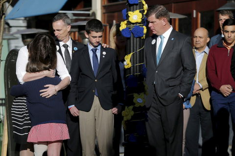 Boston Bombings Anniversary: City Remembers Tragic Day With Acts of Kindness