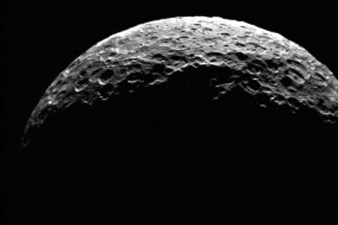 NASA's Dawn Probe Sees Dwarf P