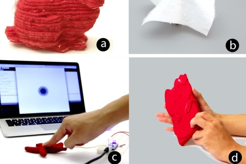 This Disney 3-D Printer Uses Fabric to Create Soft Objects